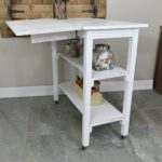 DIY Rolling Work Bench From a Table