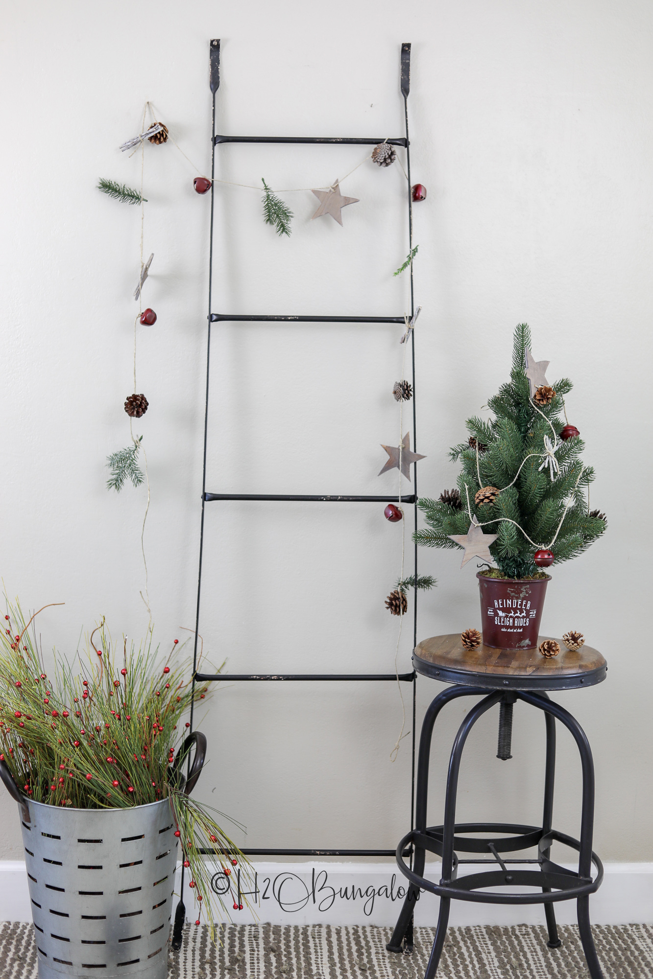 how-to-make-a-DIY-rustic-garland