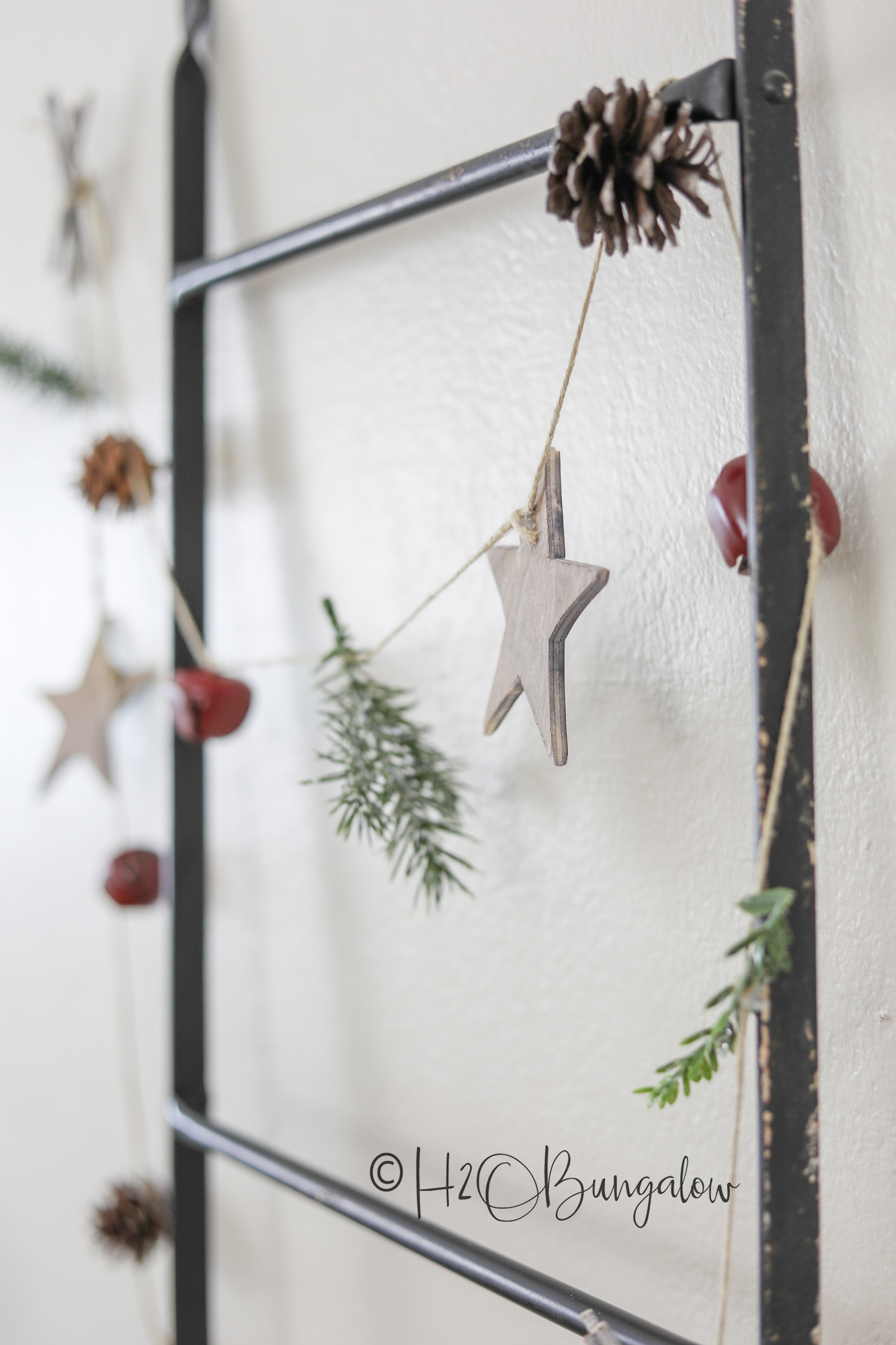 Simple Diy Rustic Garland H2obungalow