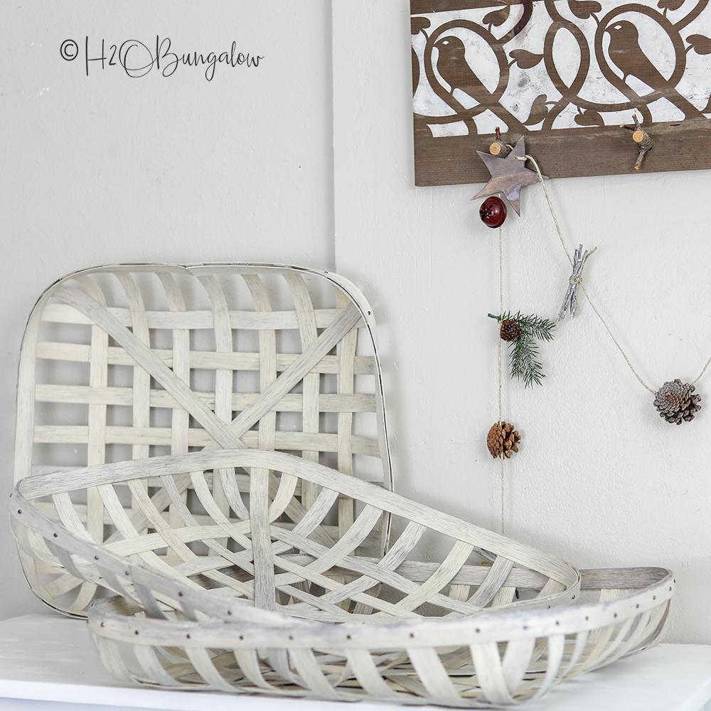 Easy tutorial to make DIY tobacco basket any size