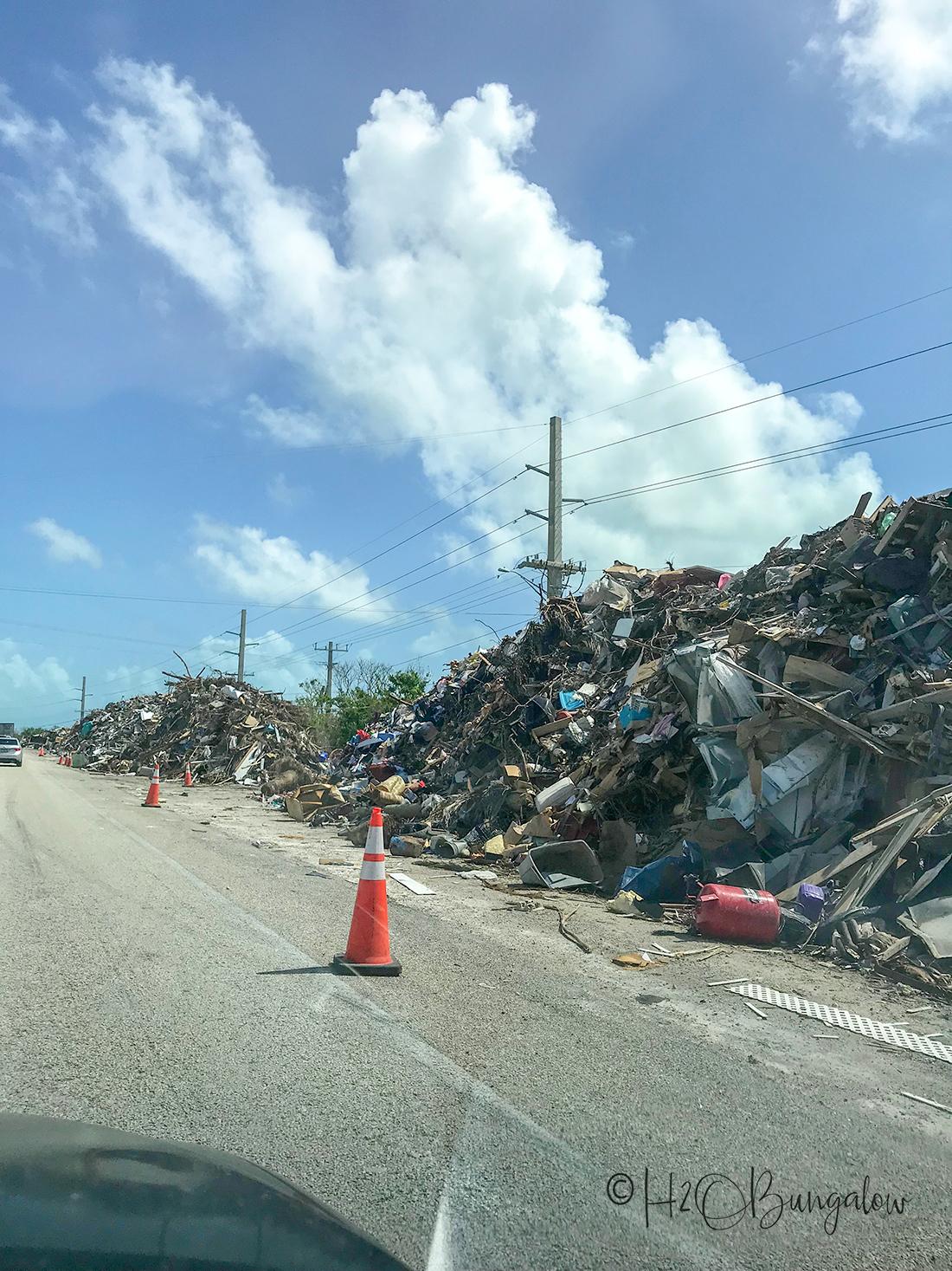 Pine Key after hurricane Irma