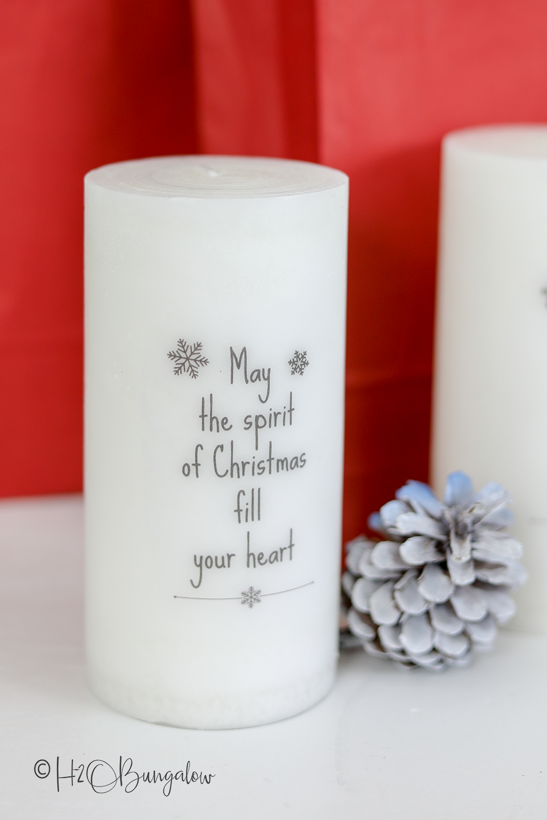 easy diy tutorial and video on how to add words to candles