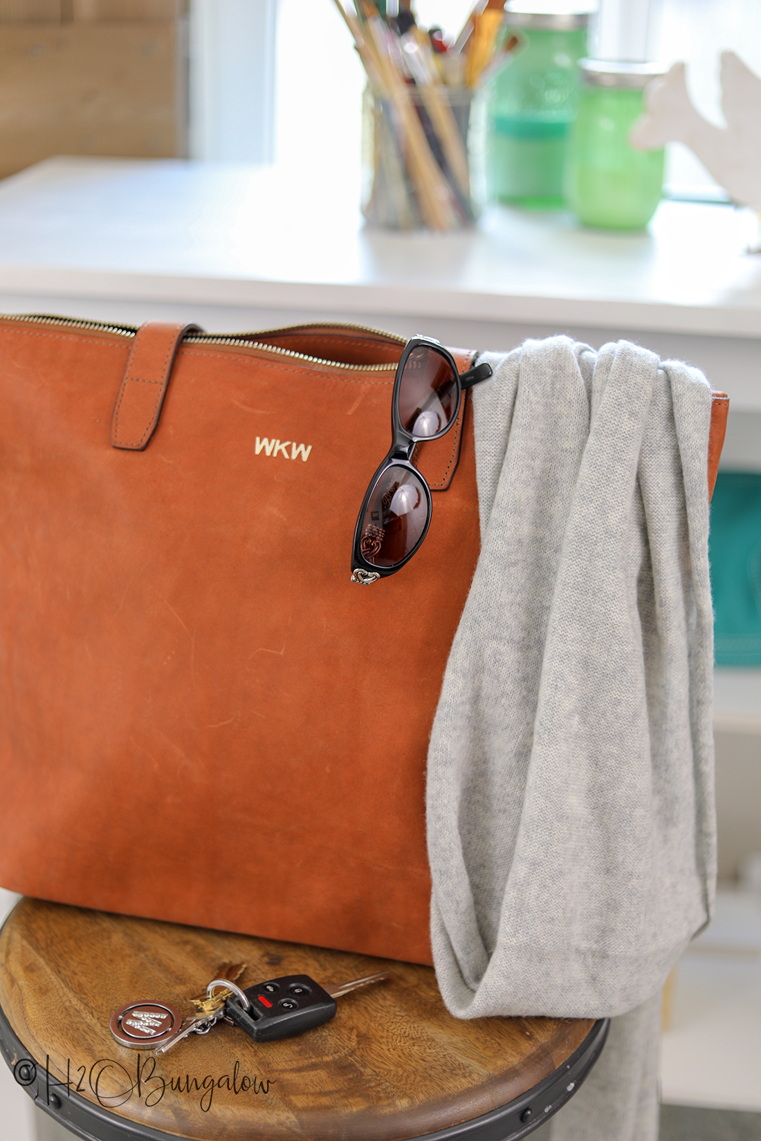 My Ballard tote keeps everything organized for my workday