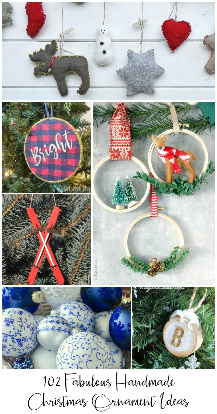 102 fabulous Christmas tree ornament Ideas you can make