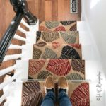 DIY Tutorial on how to install carpet runner on stairs and wood steps with or without adding stair rods. Links to find quality material at budget prices too