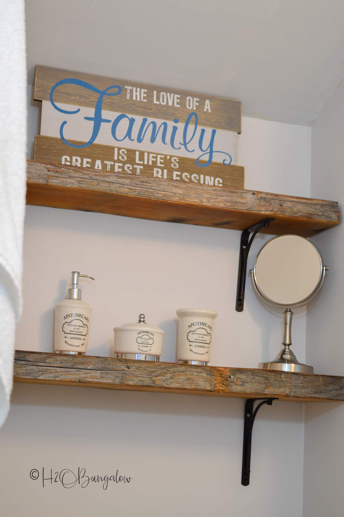 Fine many shelving ideas for home and decor #DIY shelving