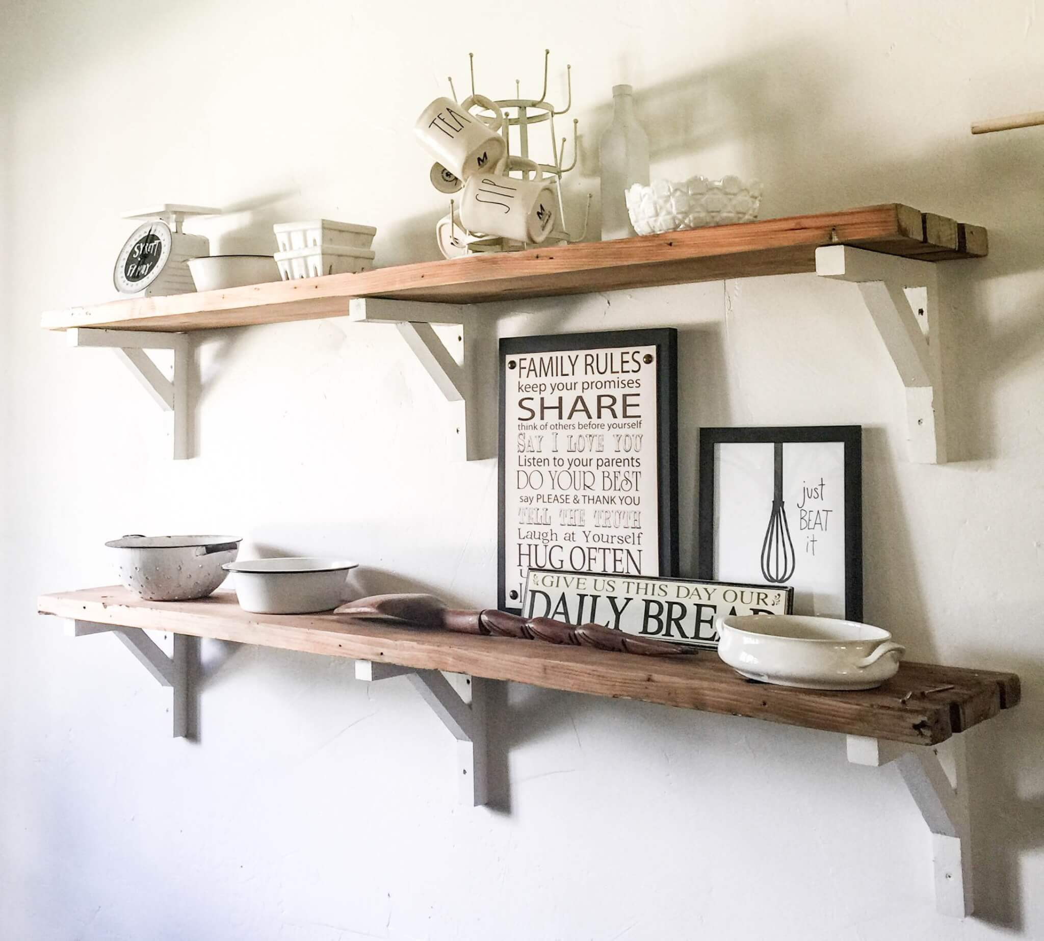 Beautiful kitchen open shelving ideas