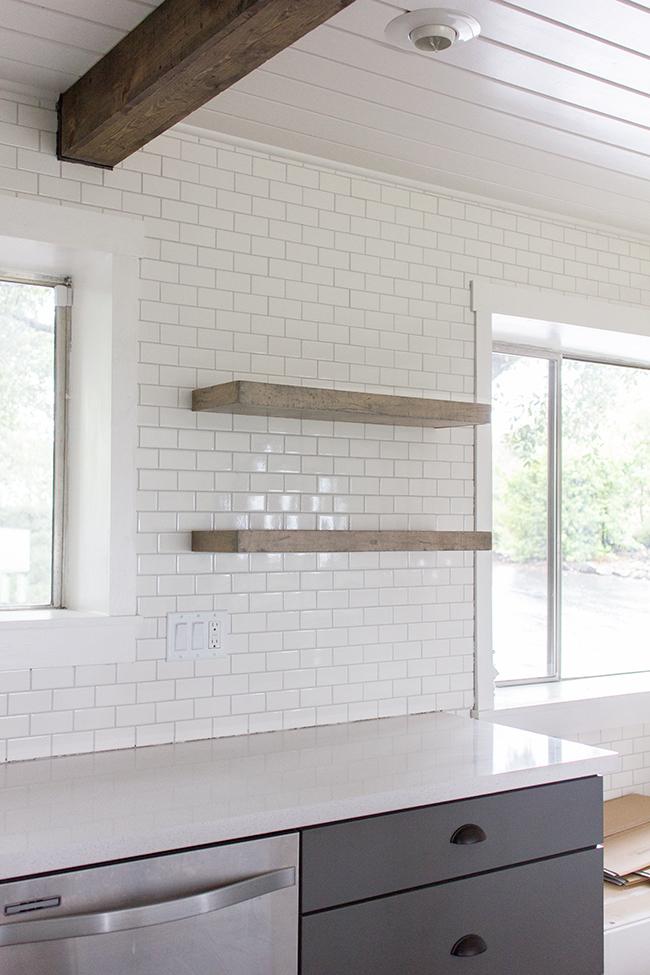 21 inspirational kitchen shelving ideas
