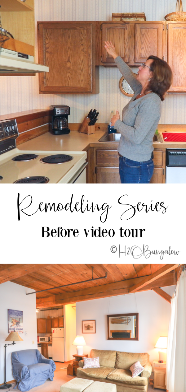 Old house renovation tour and first post in my remodeling series.  Watch my progress, learn remodeling tips, planning a renovation budget, where to shop and save money,  what questions to ask when hiring a contractor or other home improvement help.    via @h2obungalow