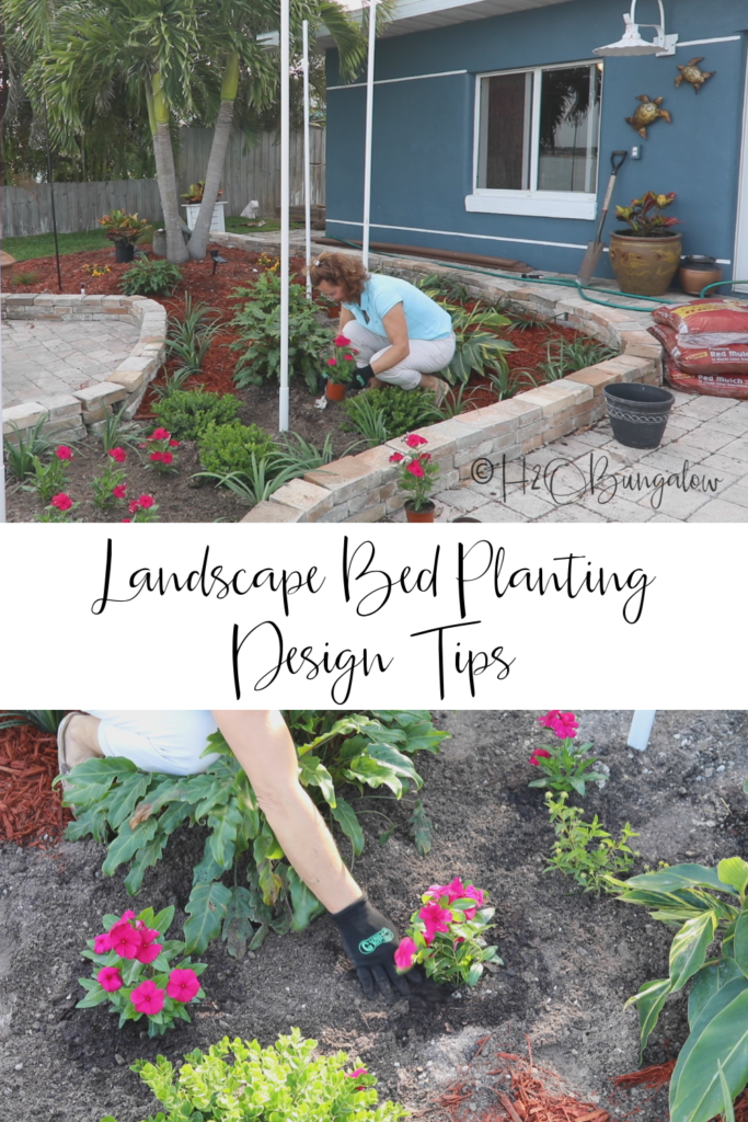 landscape bed design tips for planting patio garden beds