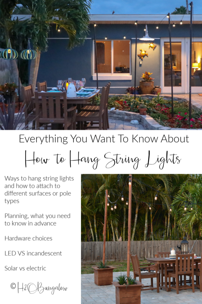 pin image how to hang string lights