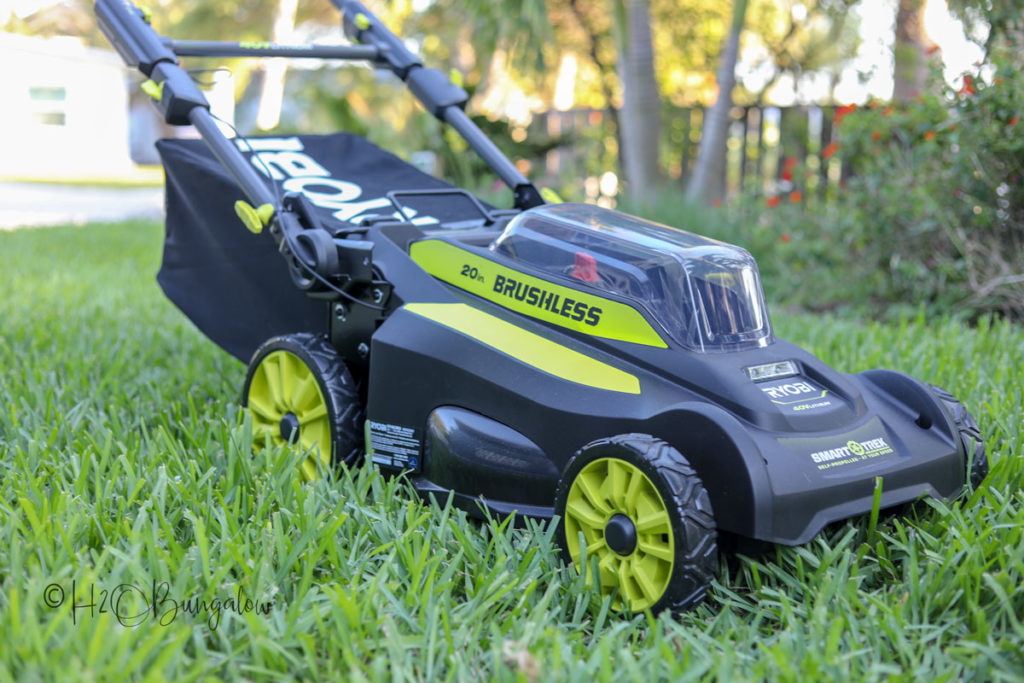 backyard makeover tools 40 v mower