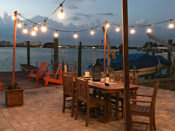 Diy Outdoor String Lights On Poles, Patio String Lights Pole Diy