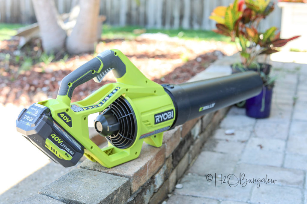 backyard makeover tools jet fan blower
