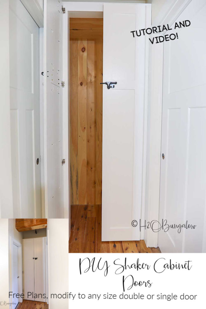 How To Make Shaker Cabinet Doors H2obungalow