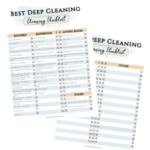 home cleaning checklist image