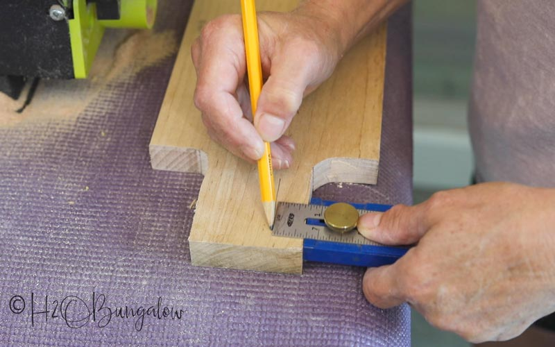 tracing cutting board handles
