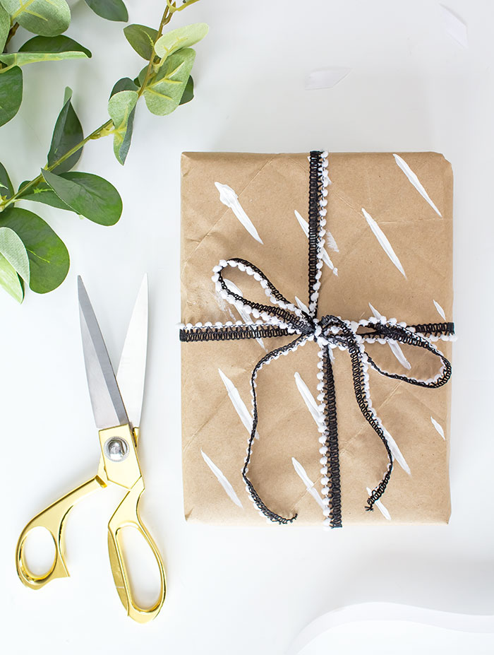 diy paper gift wrap