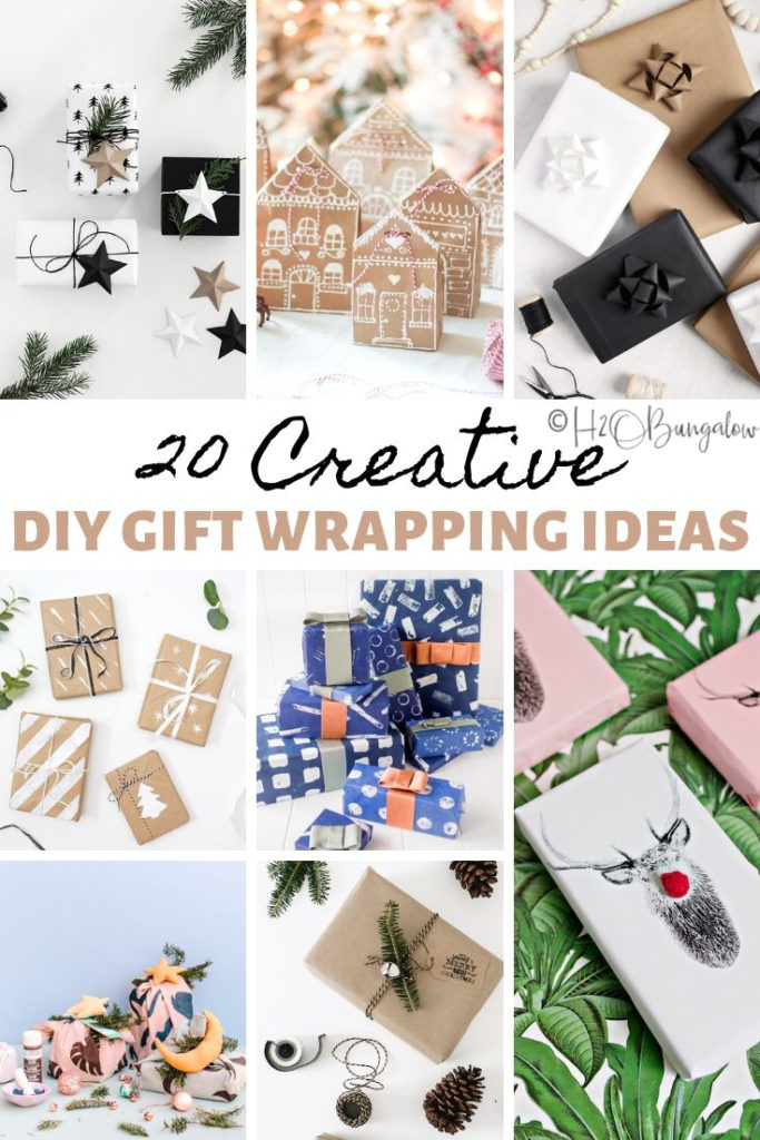 21 different creative gift wrapping ideas for Christmas, holidays, birthdays and special occasions. How to make gift wrap that's special, easy and most of all makes your gift stand out! #giftwrap #wrappingideas