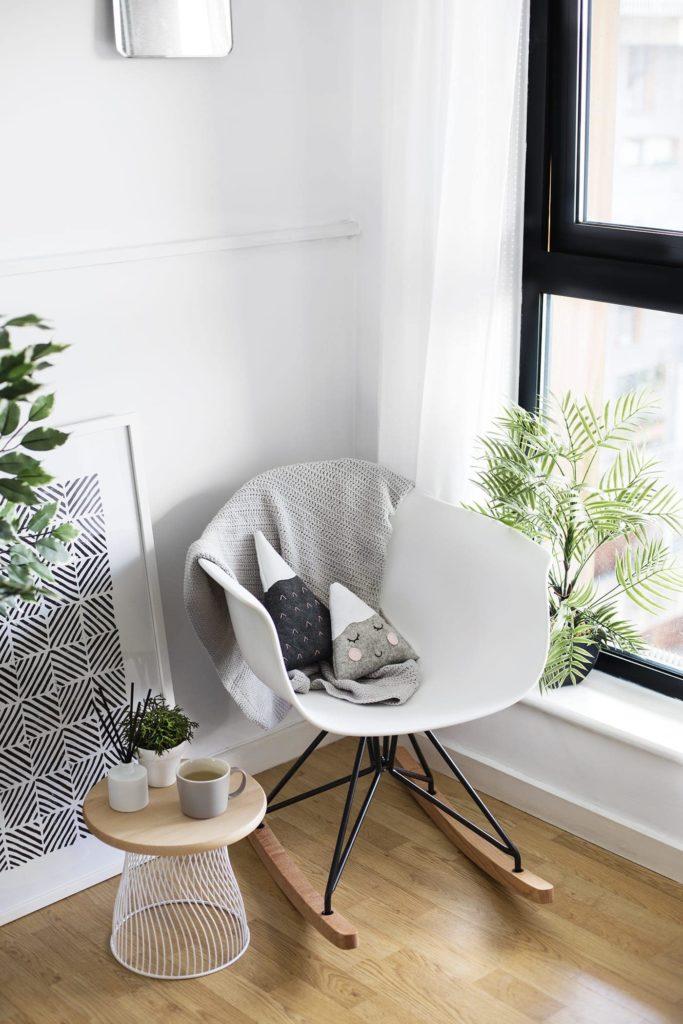 corner rocking chair