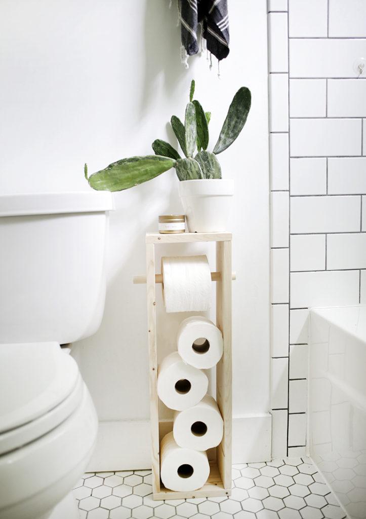 diy toilet paper holder