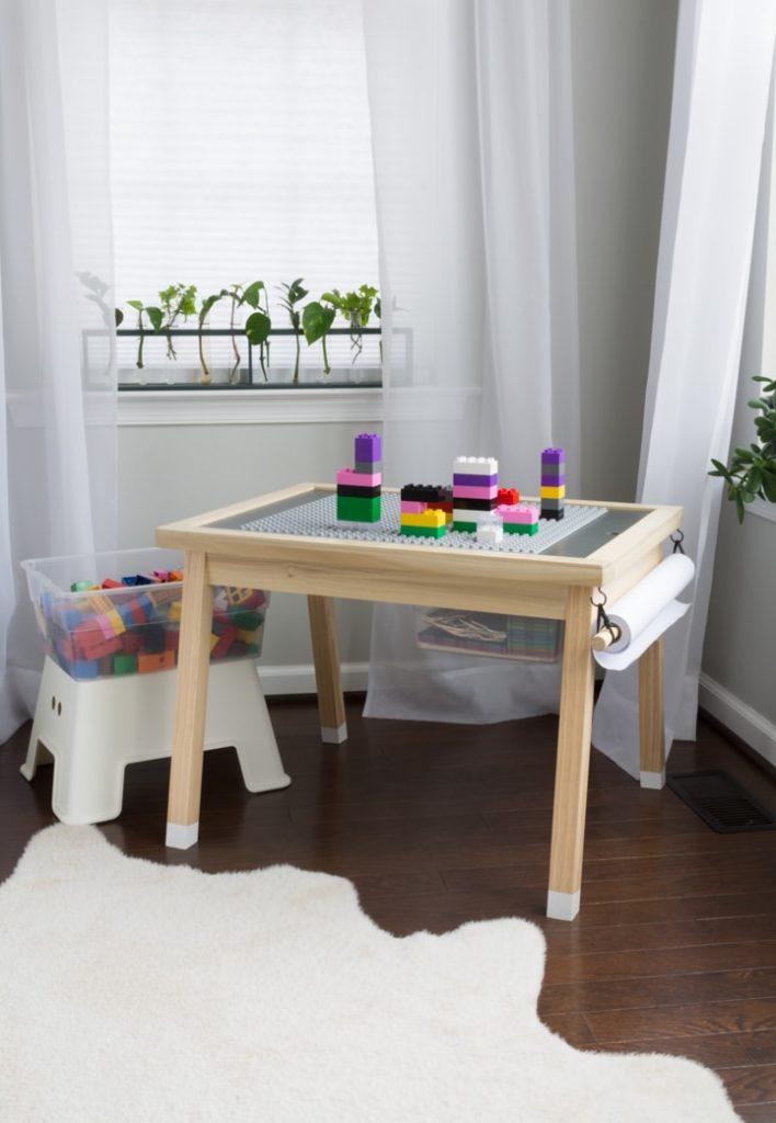 diy Lego organization table