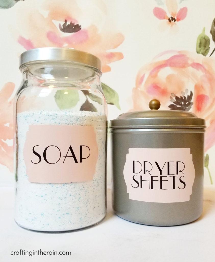 printed jar labels