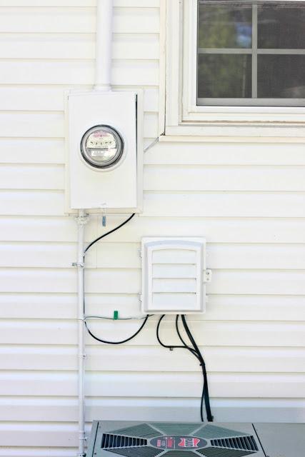 meters on wall