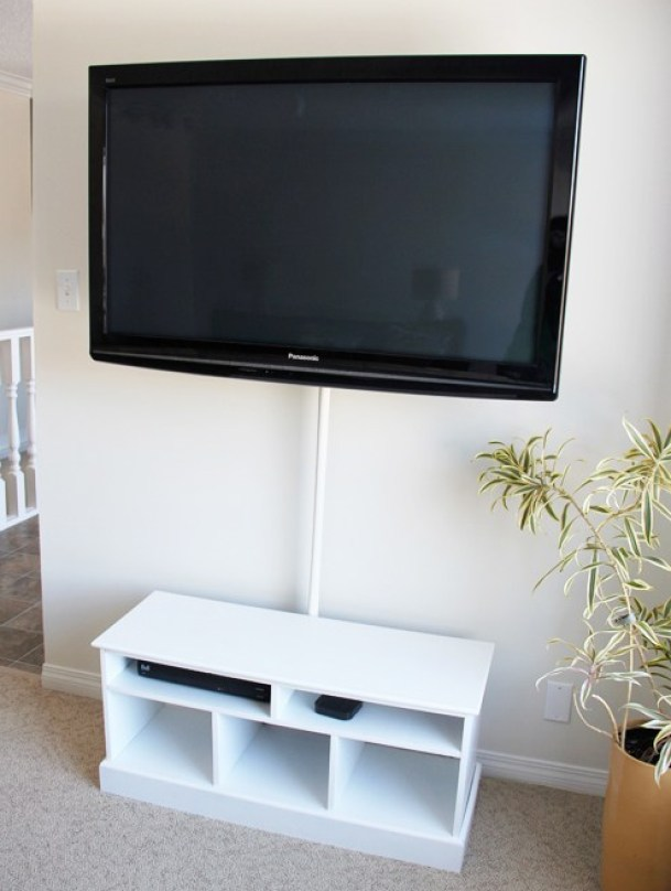 how to hide tv cords