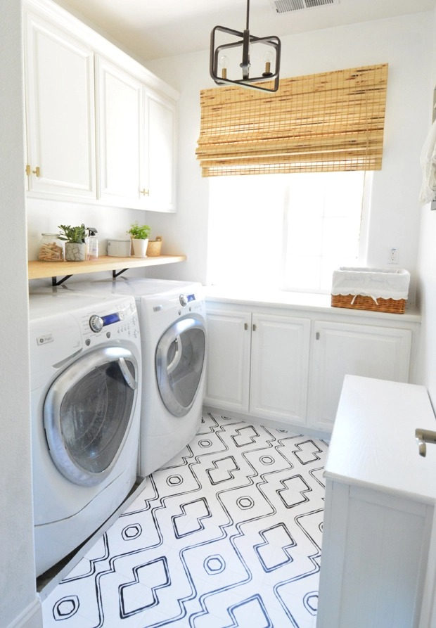 hide washer connections
