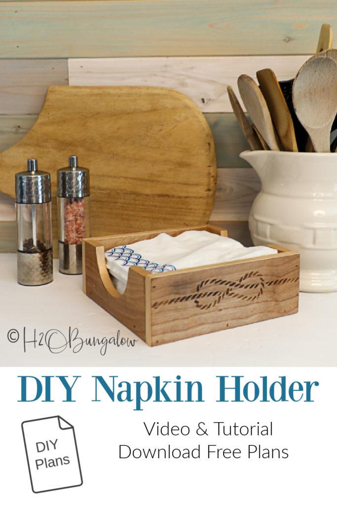 pin image DIY napkin holder